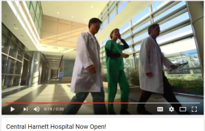 Video | Central Harnett Hospital now open